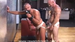 Aaron Gets Flogged and Jake Gets Fucked Men interracial