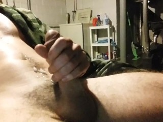 Strokin My Big Hard Cock