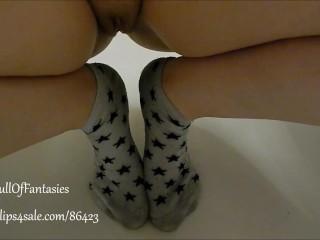 Pissing on my Starry Socks