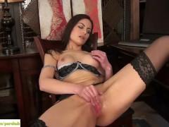KarupsOW - Michelle Khan Masturbating At Desk