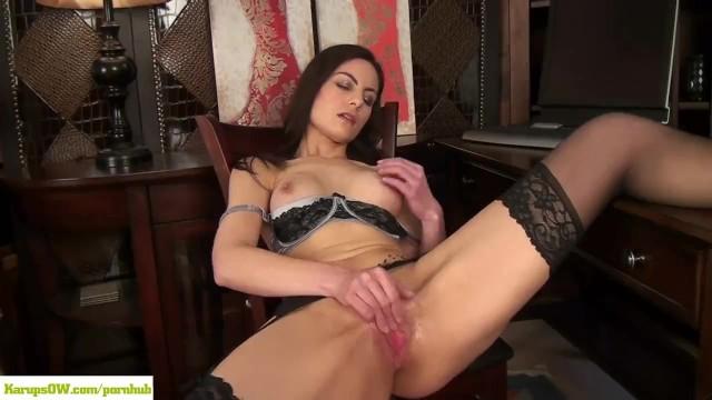 Karupsow mature - Karupsow - michelle khan masturbating at desk