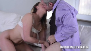 Hot Big Boob Blonde Works Out Better Deal WIth Sales Rep Mouth deepthroat