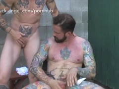 Tattooed Frankie fucks Buck Angel