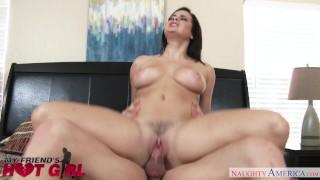 Big tits babe Keisha Grey fucks her boyfriend's buddy - Naughty America