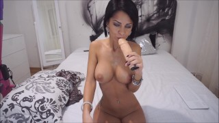 Cock huge on livejasmin hard gagging anisyia lingerie cock