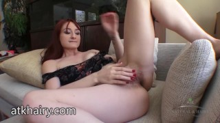 Violet Monroe back for more fingering and fun