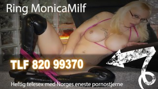 Assfisting hard with kinky norwegian and femdom pegging client a monicamilf pegging mom