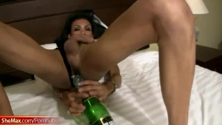 Tranny her cock gets gaping inside anal bigtitted thick hole ladyboyplayer gaping