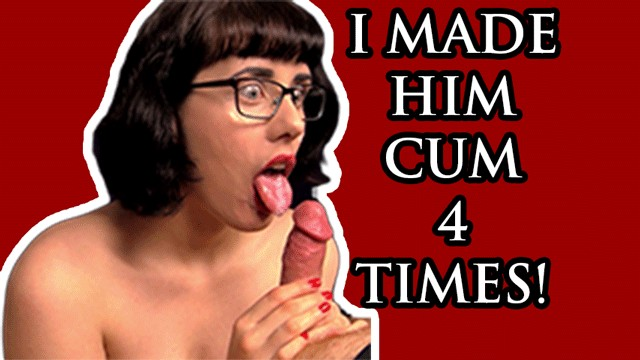 Blowjob Makes Him Cum 3 Times