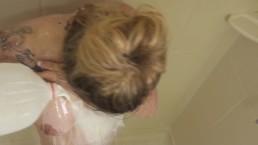 Daisy Milk Shower