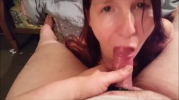 Quick Cum in my Mouth 2