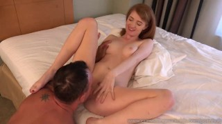 Bisexual Described Video - Abbey Rain's Cuckold Husband Eats Creampie   creampie cuckold redhead wife husband blowjob cock sharing bisexual cumeatingcuckolds bull 3some threesome cum eating ass licking pussy cream described video