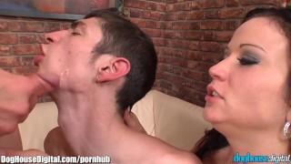 Described Video Bisexual Threesome Cumshot Compilation