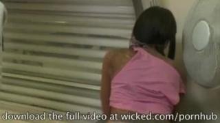 Described Video -  Tight babe Lela Star  wraps her lips around a big cock