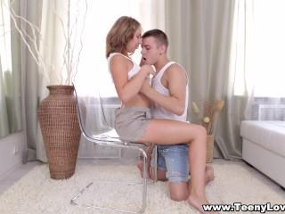 Teeny Lovers Teeny And Her Bf Enjoy Hot Sex