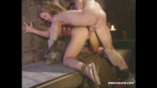 Rita Faltoyano, the Busty Empress Fucks with a Slave