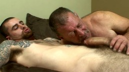 Daddy Derik Takes Hot Boy's Big Cock