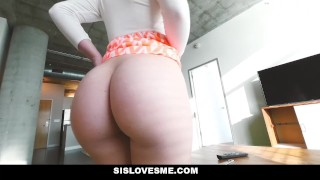 SisLovesMe - My Stepsister is Always Horny  amy summers step-brother blonde missionary hardcore smalltits cowgirl step-sister shaved step-sis sislovesme bigcock step-sibling doggystyle cumshto