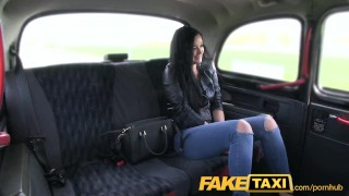 FakeTaxi Prague beauty squirting on cam Cock amateur