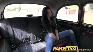 FakeTaxi Prague beauty squirting on cam Hard anal