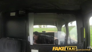 FakeTaxi Prague beauty squirting on cam Rough secretary