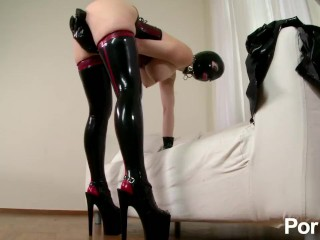 Latex Lucy the British Dominatrix 2 – Scene 2