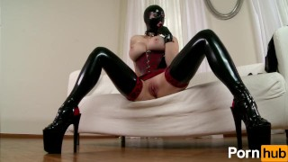 Latex Lucy the British Dominatrix 2 - Scene 2  big ass big tits clit rubbing masturbation masturbating mom milf pornhub mother natural boobs sex toys adult toys shaved pussy