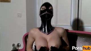 Latex Lucy the British Dominatrix 1 Best Of - Scene 5  big tits british dominatrix boots femdom fetish milf kink gloves latex big boobs masturbate fingering mask corset big ass