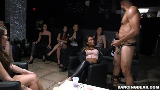 Dancing Bear makes those panties wet!! Rough deep
