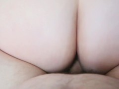 BBW Curious Clover Squirting Creampie