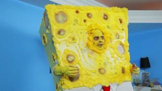 Sandy Knows How to Harden SpongeBob - SpongeKnob Square Nuts SC1 Fake fake