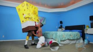 Spongebob to how square sandy spongeknob sc nuts harden knows ebony black