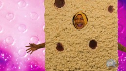 Spongebob and Patrick tag team Sandy - SpongeKnob Square Nuts SC2
