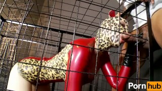 Latex Lucy the British Dominatrix 2 - Scene 4  bbc riding booty interracial heels huge cock latex shaved doggystyle rough sex fake tits pornhub mmf huge tits