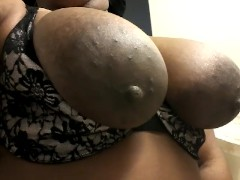 horny girl big black areolas