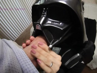 Darth Vader Gets Ass Fucked A Sprayed With Cum