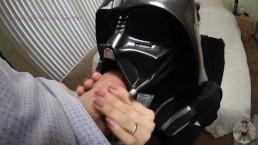 Darth Vader viene inculata e innaffiata dalla sborra