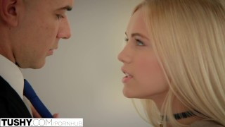 Preview 4 of TUSHY Rich Girl Alex Grey Gets More Than She Bargained For