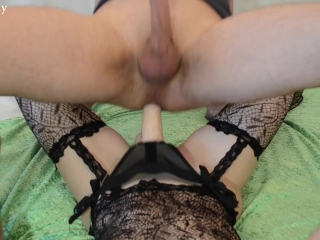 Pegging Porn Tube — Hot Wife Fucking Guy with Stra at Sex Strike