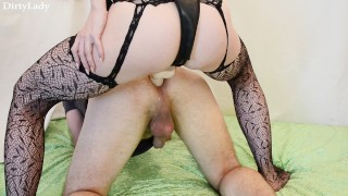 Hot Wife Fucking Guy with Strapon (PEGGING FEMDOM)  sex toy strap on pegging his ass ass fuck femdom strapon guy girls fuck guys femdom strapon pegging strapon femdom kink stockings adult toys domination pegging strapon wife strapon