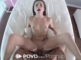 POVD - Kharlie Stones hot ass is fucked in POV