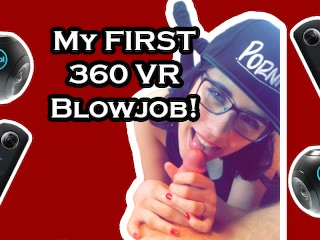 Free Amateur Fetish My First 360 VR Blowjob