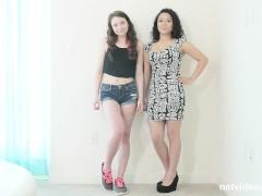 2 best friends in 1 calendar audition