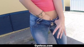 OyeLoca - Hot Latina Fucks In Public