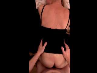 hot blonde chick banged on kitchen table