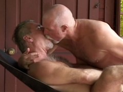 Daddy Bear Outdoor Orgy