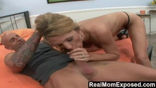 RealMomExposed - He Lets His Wife Get Professionally Satisfied
