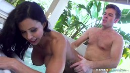 Jewels Jade gets pounded in the Jacuzzi - Brazzers