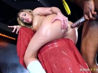 Aj Applegate gets a BBC in her ass – Brazzers