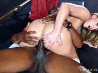 Aj Applegate gets a BBC in her ass - Brazzers